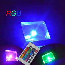 Rgb Landscape Lights Outdoor Landscape Light Garden Wall Sport Light 30w Rgb Color