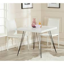 safavieh wolcott white and black dining table fox4205a the home