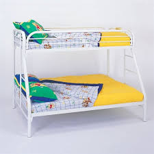 White Metal Bunk Bed Coaster Tracey Metal Bunk Bed In White Finish 2258w