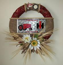 international harvester home decor image result for international harvester ribbon wreath ideas
