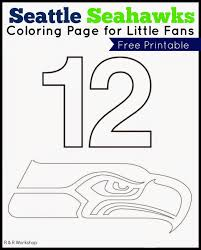 seahawks coloring page seattle seahawks nfl american football