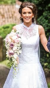 bespoke wedding dresses andrea bambridge of york bespoke wedding gown stitched