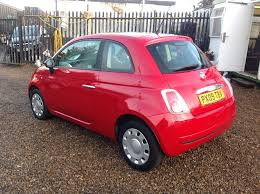 fiat 500 hatchback used fiat 500 1 2 pop 3dr 3 doors hatchback for sale in chadwell