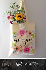 bridesmaid tote bags bridesmaid tote bags personalized tote bag floral bridesmaid