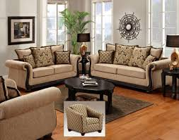 Brown Sofa Set Designs Chelsea Home Lily Sofa Set Delray Taupe Chelsea Living Room