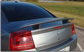 2010 dodge charger spoiler srt8 factory style spoiler for 2006 2010 charger pfyc
