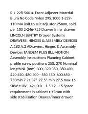 15 Cabinet Positions Taco Bell Page 99 100 Over 300 Mm Long Two Side Guided Runner