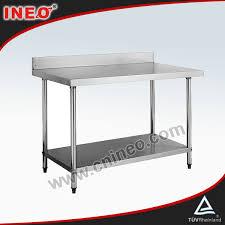 Under Cabinet Dish Rack Stainless Steel Work Table With Under Shelf Stainless Steel Work