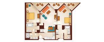 Treehouse Villas Disney Floor Plan by Aulani 1 Bedroom Villa Floor Plan Descargas Mundiales Com