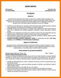 Firefighter Resume Templates Firefighter Resume Best Firefighter Resume Example Livecareer