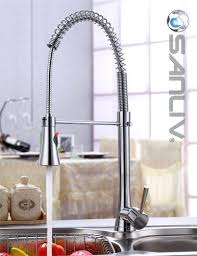 pull spray kitchen faucet single faucet for kitchen chrome pull spray kitchen sink faucet