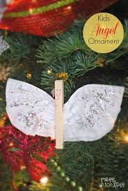 angel christmas ornament coffee filters christmas ornament and