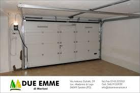 porte sezionali per garage portoni sezionali scorrevoli due emme marianidue emme di mariani
