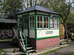 signal shed cross keys signal box is an entrant for shed of the year 2014 via