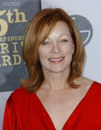 haircuts for 50 plus frances fisher shoulder length hairstyle with side bangs for 50