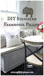 best 25 stenciled pillows ideas on pinterest stencil pillow