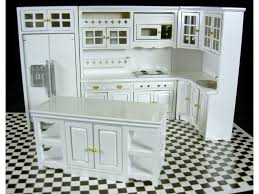 1 12 modern white wooden fitted kitchen furniture set town