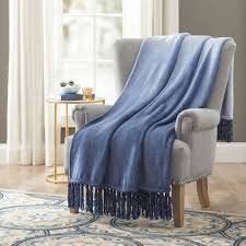 better homes and gardens woven fringe throw walmart com