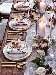 the thanksgiving table setting family circle tablescapes