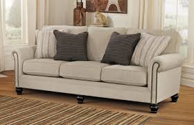 Striped Sofas Living Room Furniture Simple Living Room With Furniture Milari Linen Sofa Bed
