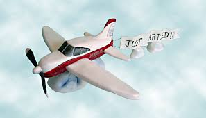airplane cake topper airplane cake topper with just married banner cakecentral