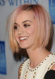 Trendige Bob Fr by Asymetrical Bob Pink Roots Must Try These Hairstyles