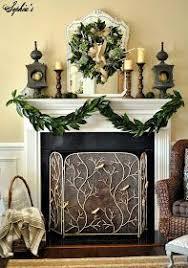 magnolia leaf garland coat each leaf with future floor wax to
