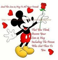 mickey mouse quotes friendship google hang