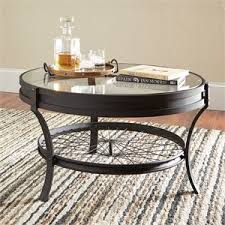 Powell Black Glass Top Side Coffee Tables Cymax Stores