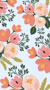 rifle paper co iphone 6 plus spring floral wallpaper pattern