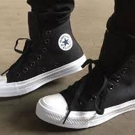 Sepatu Converse Black sepatu converse all ct ii high black white premium original