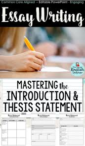Example Of Thesis Statement For Argumentative Essay Thesis Statement For Education Essay Best Ideas About Thesis