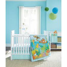 Aqua And Pink Crib Bedding by Amazon Com Disney Baby Finding Nemo 4 Piece Crib Bedding Set