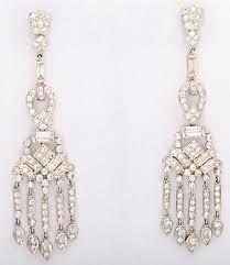 Long Chandelier Earrings Dangle Earrings Dangling Diamond Gold Chandelier Earrings For Sale At 1stdibs