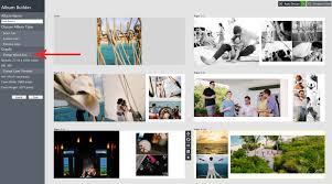 vertical photo album feature magic morphing album fundy designer