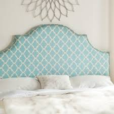 Curved Upholstered Headboard by White Headboards You U0027ll Love Wayfair
