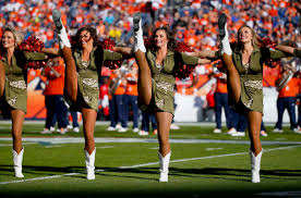 Denver Broncos Cheerleader Halloween Costume Cheerleaders Super Bowl 50 Denver Broncos Q92 7 Wqel