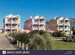 colorful beach houses kill devil hills outer banks north