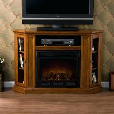 corner electric fireplace tv stand walmart with inch stands heater