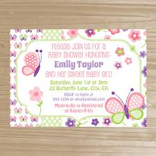 free printable butterfly baby shower invitations iidaemilia