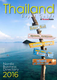 thailand expat guide by scandasia 2016 by scandasia publishing co