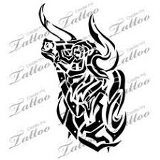 nice tribal bull tattoo image jpg 894 894 tattoo designs