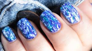 denim nails no tools nail art design nail polish designs