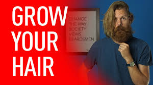ways to wear your hair growing out a pixie every man should grow long hair eric bandholz youtube