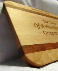 engraved cutting boards personalized cutting board custom engraved family large