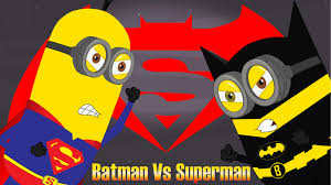 minions batman superman funny cartoon 1 hd 1080p