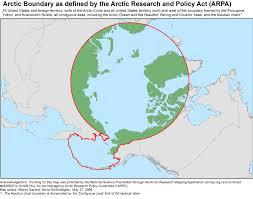 Arctic Ocean Map Arctic Gov U003e Maps