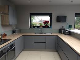 grey gloss and white kitchen decorating kitchens and grey
