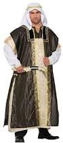 Xxxl Halloween Costumes Mens Deluxe Arab Sheik Arabian Halloween Fancy Dress Costume