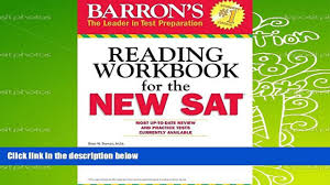 read online barron s reading workbook for the new sat critical